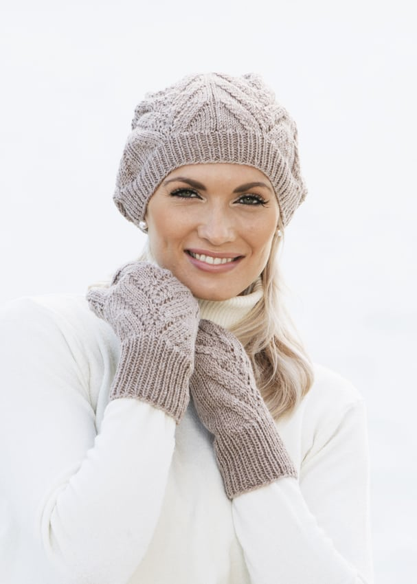 strikkeopskrifter huer til kvinder