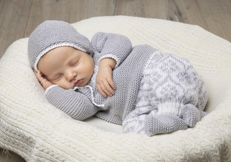 strikkebøger til baby