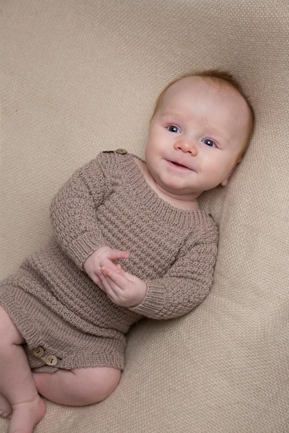 baby strikkeopskrifter bomuld